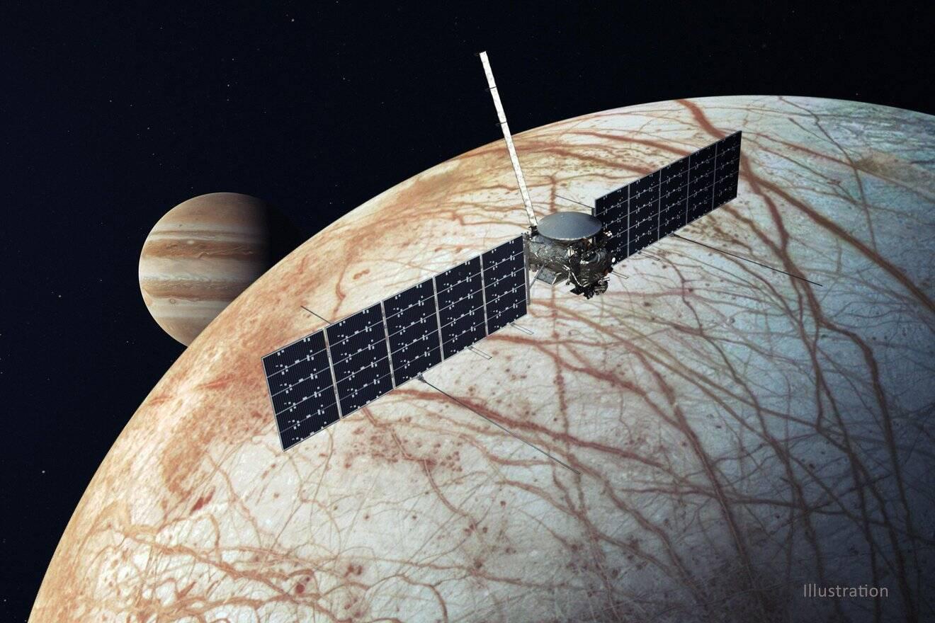 Calor em lua de Júpiter pode ser suficiente para alimentar vulcões submarinos