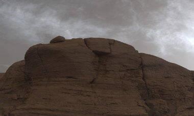 Robô Curiosity da Nasa produz fotos das nuvens de Marte