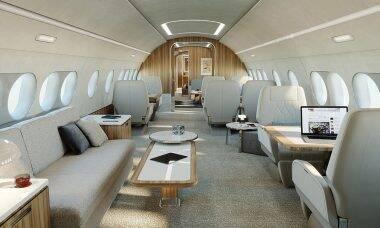 Configurador da Airbus permite criar interior do seu próprio avião