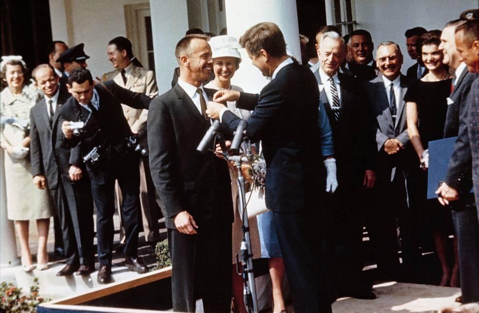 Há 60 anos, Alan Shepard foi o primeiro astronauta americano no espaço