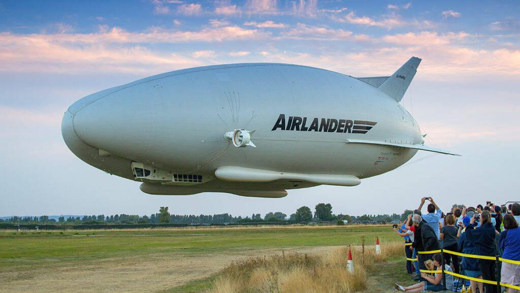 """Empresa aposta em dirigíveis híbridos como opção """"limpa"""" aos aviões"""