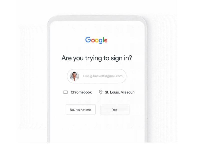 Google vai adotar verificação de duas etapas por padrão