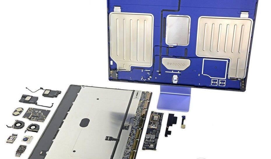 Novo iMac com chip M1 ganha nota baixa em índice de reparabilidade