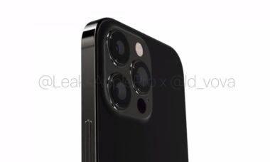 Imagens do futuro iPhone 13 Pro vazam na internet