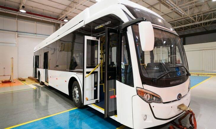 Ônibus híbrido de Itaipu entra na fase final de testes