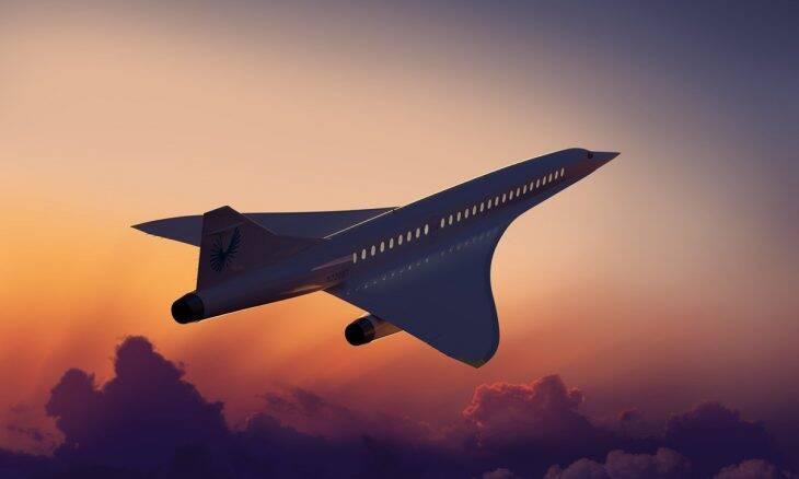 Startup quer oferecer viagens aéreas supersônicas a partir de R$ 500