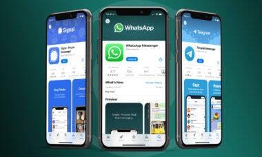 Rivais crescem até 1.200% após mudança nos termos do WhatsApp