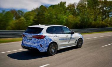 BMW testa veículos com tecnologia de célula de combustível de hidrogênio