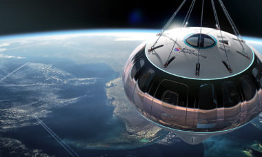 """Space Perspective abre reservas para """"viagem espacial"""" de balão"""
