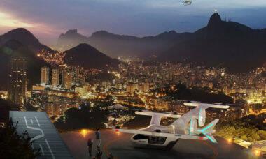 Eve recebe encomenda no Brasil para 50 carros voadores