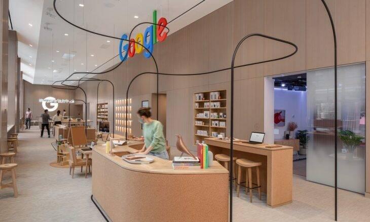 Google inaugura sua 1ª loja física em Nova York (EUA)