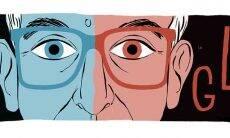 Google homenageia o 80º aniversário de Krzysztof Kieślowski. Foto: Reprodução