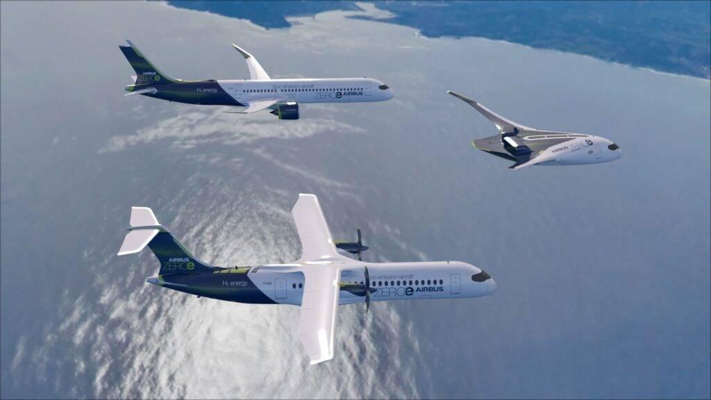 Airbus anuncia criação de centros tecnológicos para criar aviões a hidrogênio