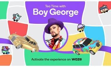 Boy George vira voz do Waze no Mês do Orgulho LGBTQIA+
