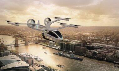 """Braço de mobilidade da Embraer, Eve recebe encomenda de 200 """"carros voadores"""""""
