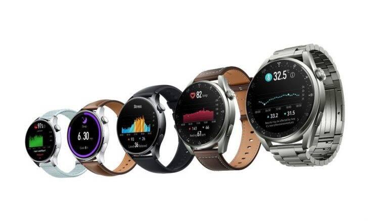 Huawei lança Watch 3 e MatePad com o Harmony OS