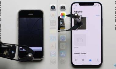 YouTuber compara iPhone 12 e iPhone original em teste de desempenho