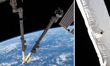 Lixo espacial provoca dano na Estação Espacial Internacional