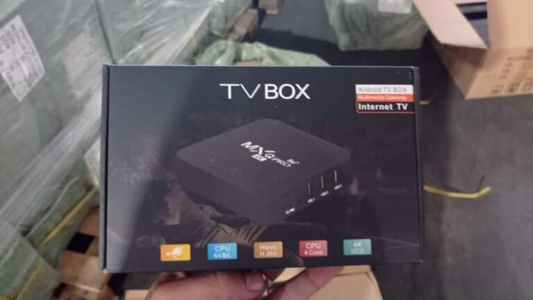 Receita Federal apreende 13 mil desbloqueadores ilegais de TV por Assinatura