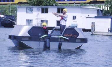 Amsterdã inicia teste com barco autônomo