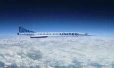 United Airlines planeja vôos supersônicos a partir de 2029