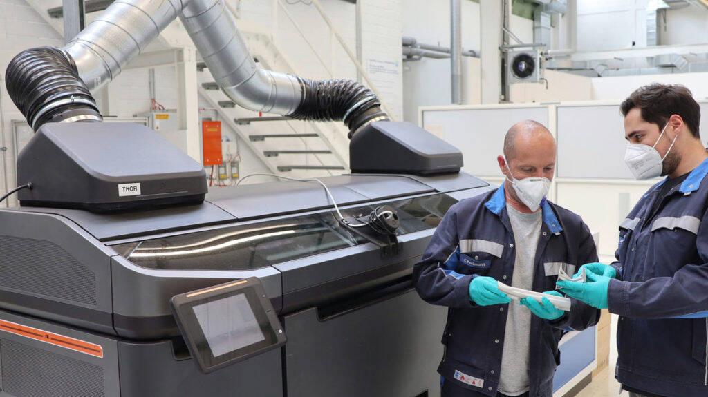 VW testa nova técnica para impressão de peças metálicas em 3D