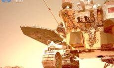 China divulga sons captados pelo robô Zhurong em Marte