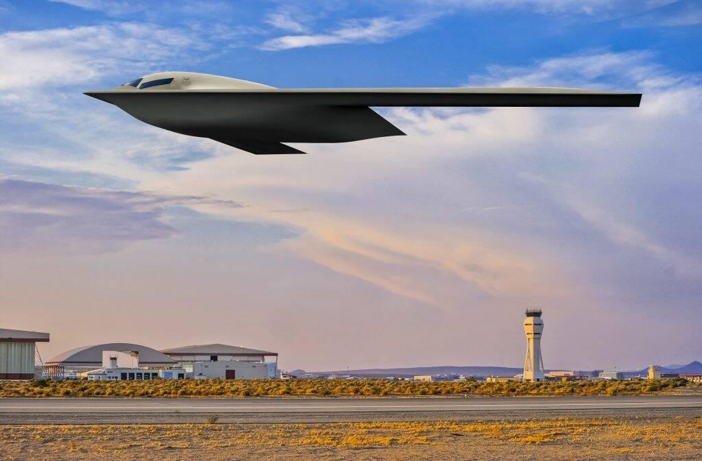 Força Aérea dos EUA revela nova imagem do B-21 Raider