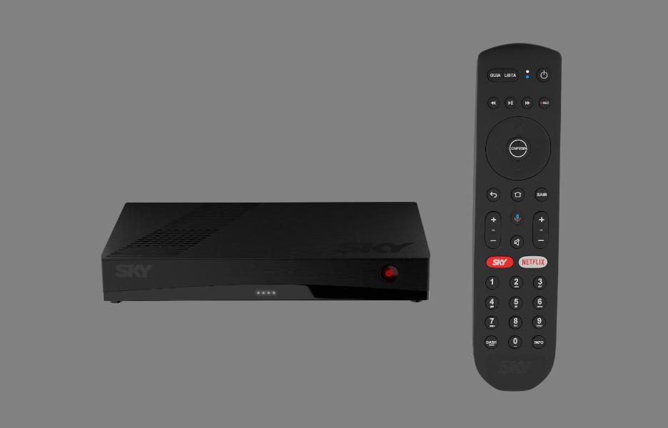 SKY lança novo receptor com Android TV