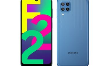 Samsung Galaxy F22 é revelado com bateria de 6.000 mAh