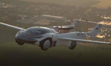 Carro voador AirCar completa o seu primeiro voo