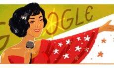 Google celebra o 101º aniversário da cantora brasileira Elizeth Cardoso