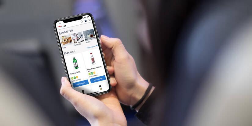 Clientes da British Airways vão poder pedir bebidas e comidas pelo celular