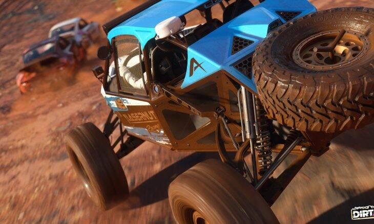 Dirt 5 terá suporte total para DualSense e áudio 3D