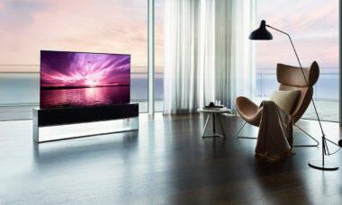 LG lança TV 'enrolável' de US$ 100.000 nos EUA
