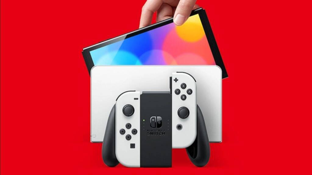 Nintendo revela novo Switch com tela OLED