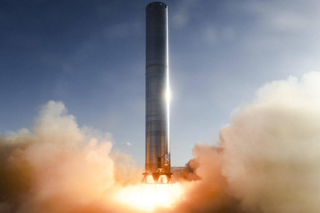 SpaceX testa motores do foguete Super Heavy