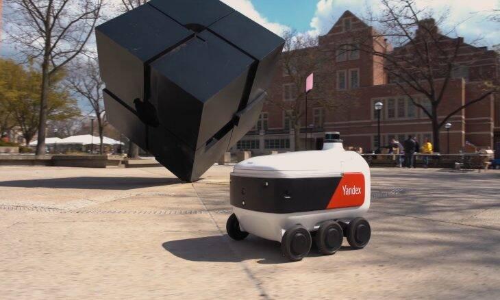 Yandex vai implantar serviço de entrega com robôs em universidades dos EUA