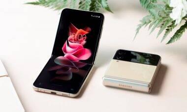 Samsung apresenta novos dobráveis Galaxy Z Flip3 e Galaxy Z Fold3