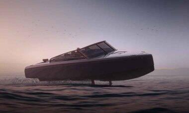 Barco voador elétrico promete a maior autonomia da história. Foto: Divulgação