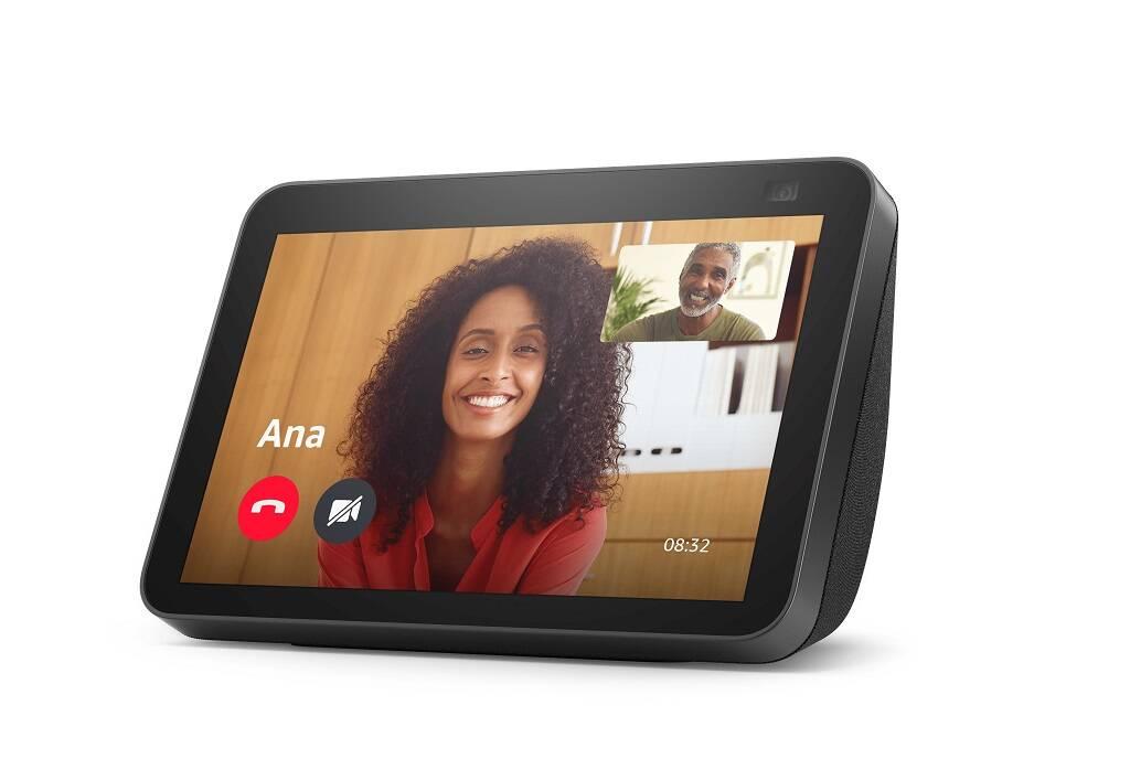 Amazon lança novos Echo Show 8 e Echo Show 5 no Brasil