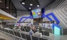 Resort em SC estreia espaço gamer com arena para eSports