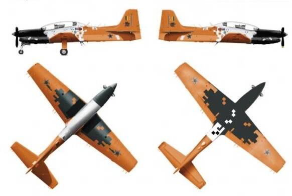 Modernizado, Embraer T-27 Tucano terá nova pintura na FAB
