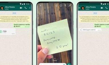 Whatsapp lança imagens de visualização única; saiba como enviar