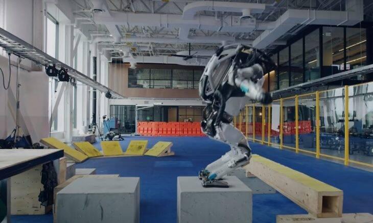 robô boston dynamics