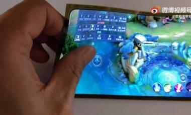 Vídeo do Xiaomi Mi Mix 4 vaza na web e tela flexível chama a atenção