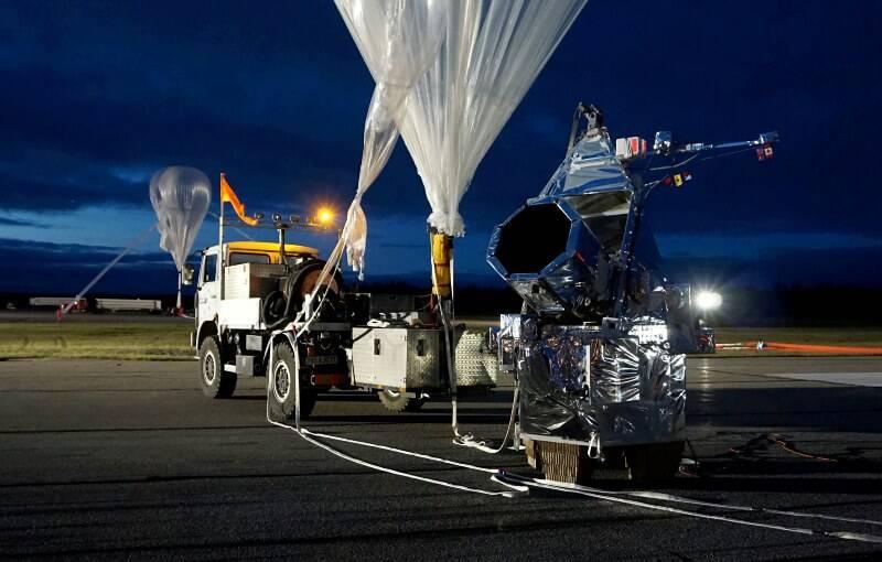 Balão do tamanho de um campo de futebol vai lançar novo telescópio espacial