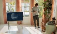 The Serif: TV da Samsung que vira quadro estreia no Brasil