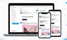 Twitter muda fonte e atualiza aparência da rede social