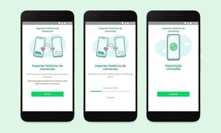 WhatsApp agora permite transferência de conversas entre Android e iOS